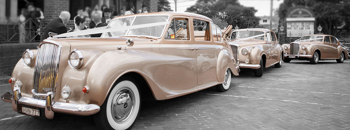 Classic Vintage Wedding Car Hire In Sydney